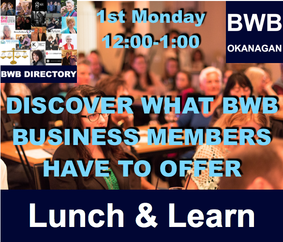 BWB Lunch & Learn @ Kelowna Public Library  | Kelowna | British Columbia | Canada