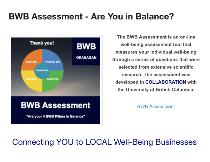 BWB Assessment
