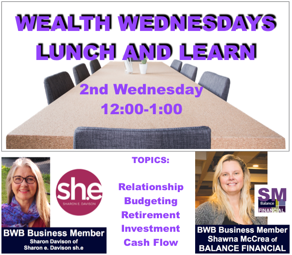 Wealth Wednesday Lunch & Learn @ Kelowna Public Library  | Kelowna | British Columbia | Canada